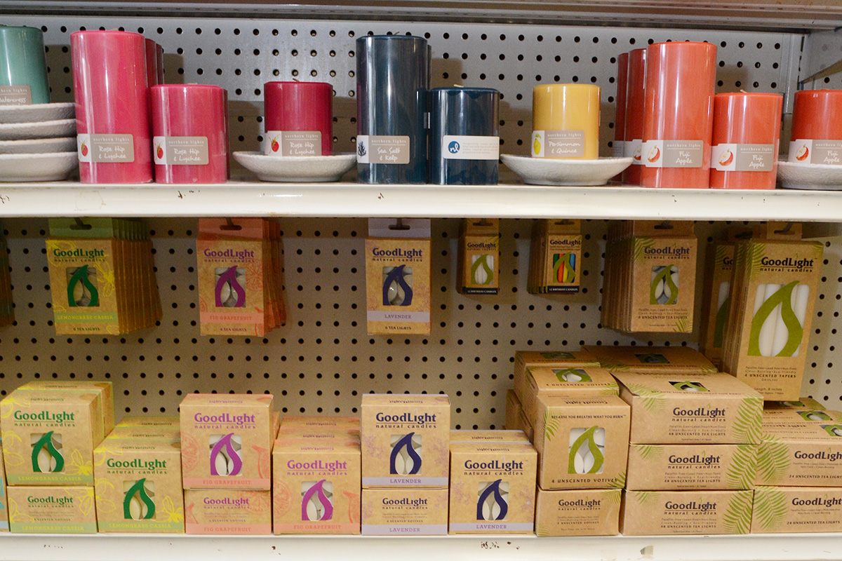 Candles at Feel Rite