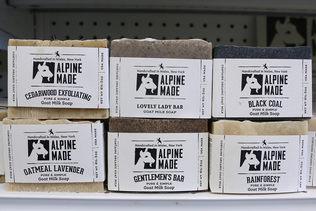 Local Western New York Soap at Feel Rite Fresh Markets