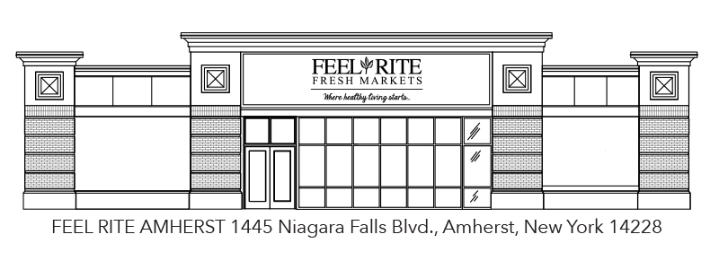 Artist Render of New Feel Rite Amherst Location